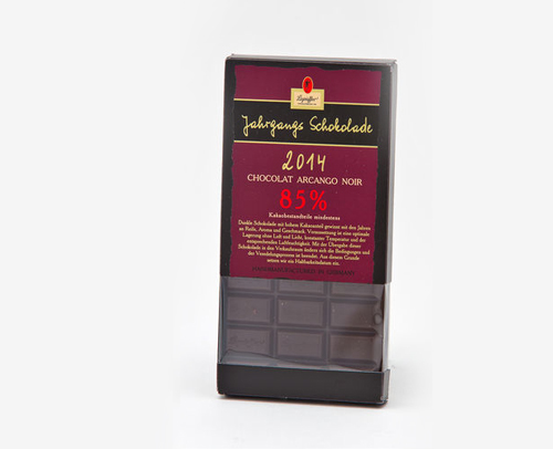 Jahrgangsschokolade 2017 85%